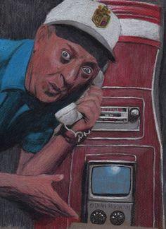Rodney Dangerfield drawing by Dean Huck by Dean Huck on ARTwanted