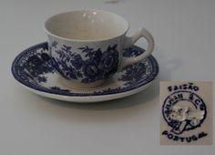 Chávena de café - Faisão Loiça de Sacavém