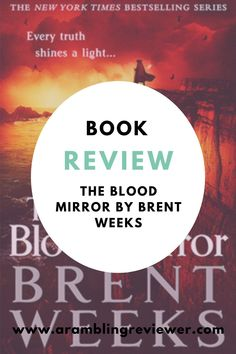 Have you been reading The Lightbringer series by Brent Weeks? I'm sharing my book review on number 4 - The Blood Mirror. Fantasy Book Reviews, Fantasy Books To Read, Fantasy Series, Character Meaning, Types Of Magic, Stand By Me, Book Recommendations, Laughter, Blood