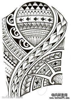 一款很帅潮流的手臂图腾纹身手稿_武汉纹身店之家:老兵纹身店,武汉纹身培训学校,纹身图案大全,洗纹身,武汉最好的纹身店!