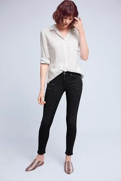 7 For All Mankind Girls Jeans Super Soft Denim Super Skinny Palo Rosa Kids NWT
