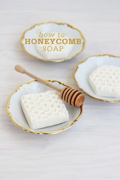 How to Make Honeycomb Soap How to Make Honeycomb Soap. No lye or scary (to me) ingredients.