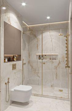 New Bathroom Designs, Bathroom Design Luxury, Bathroom Trends, Modern Bathroom Design, Modern Luxury Bedroom, Modern Classic Bathrooms, Small Elegant Bathroom, Home Room Design, Home Interior Design