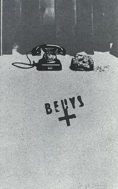 """Beuys, Earth-telephone - 1973    www.artexperiencenyc.com    Vásquez Rocca, Adolfo, """"Joseph Beuys 'Cada hombre, un artista'; Los Documenta de Kassel o el Arte abandona la galería"""" (Reedición) En Revista Almiar, MARGEN CERO, MADRID, Nº 37 - diciembre de 2007 - Margen Cero © , Fundadora de la Asociación de Revistas Culturales de España, ISSN 1695-4807  http://www.margencero.com/articulos/new/joseph_beuys.html"""