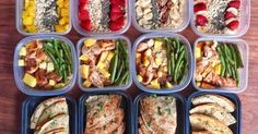 BBQ Pineapple Chicken With Green Beans And Brown Rice - Powered by Healthy Meals For Two, Easy Healthy Breakfast, Healthy Foods To Eat, Healthy Dinner Recipes, Healthy Snacks, Healthy Eating, Bbq Pineapple Chicken, Chicken Green Beans, Roasted Root Vegetables