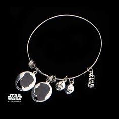 "Star Wars: ""I love you. I know"" Charm Expandable Bracelet 316 Stainless Steel - Trustmark Jewelers - Bracelets - 3"