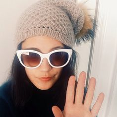 Hi. My name is Jena and I'm addicted to sunglasses.