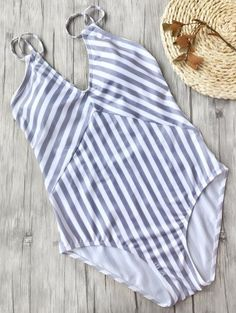 GET $50 NOW   Join Zaful: Get YOUR $50 NOW!http://m.zaful.com/slimming-striped-strappy-one-piece-swimsuit-p_285685.html?seid=3815531zf285685