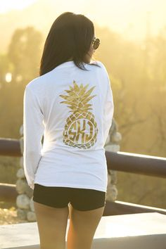 Pocket Monogram Tee Shirt - Lots of Options! | Jane