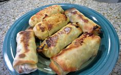 Bacon, Egg and Cheese Breakfast Egg Rolls - Cooking with Mel - Cooking with Mel