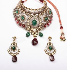 Choker Necklace Set - a result of impeccable designs, outstanding craftsmanship and quality materials.