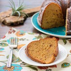 Dulce de Leche Bundt Cake has toffee bits inside for extra caramel goodness.