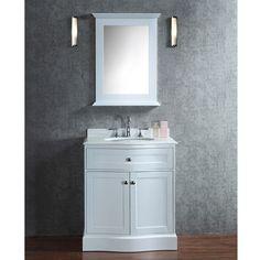 Abel 30 Inch Black Bathroom Vanity Marble Top   Bathroom Remodel    Pinterest   Black Bathroom Vanities, Marble Top And Bathroom Vanities