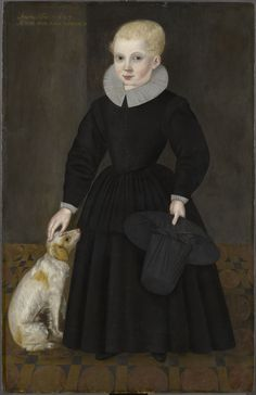 Portrait of a Young Boy aged Three, 1598 [1]