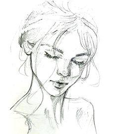Awesome Pic Drawing sketbook Tips, # kunstskizzen P many s . Pencil Art Drawings, Art Drawings Sketches, Cool Drawings, Art Sketches, Art Du Croquis, Arte Sketchbook, Portrait Sketches, Self Portrait Drawing, Portrait Art