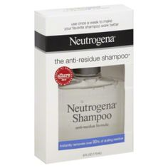 Neutrogena Shampoo Anti-Residue 6 oz $5.49