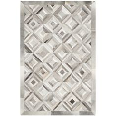 Safavieh Handmade Studio Leather 200 Grey Leather Rug (3' x 5') | Overstock.com Shopping - The Best Deals on 3x5 - 4x6 Rugs