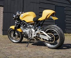 Yamaha Frankenstein Cafe Racer ~ Return of the Cafe Racers