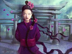 Utaku Zo Sia - Legend of the Five Rings by ianllanas