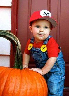 Baby Mario Easy Halloween Costume