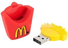 McDonald's French Fries Design USB Flash Drive - I'm like crying oh my god