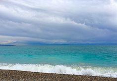 Crazy, wenn das Meer stärker leuchtet als der Himmel.