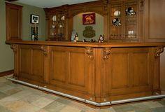 Irish Pub Home Bar