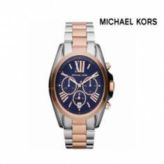 L'orologio Unisex Rosegold della Michael Kors, realizzato in acciaio e oro rosa. Movimento al quarzo, cronografo, datario alle ore 6, fondello a vite.