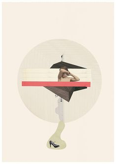 Minimal collage art from Jesus Perea | Exhibition-ism ...BTW,Check this out: http://artcaffeine.imobileappsys.com