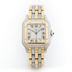 Cartier Watch in Gold & Silver.