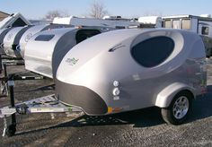 MyPod Max - Teardrop Camper/Trailer - Little Guy - love the window shape Teardrop Camper Trailer, Tiny Camper, Small Campers, Cool Campers, Small Camping Trailer, Jeep Camping, Small Trailer, Camper Trailers, Travel