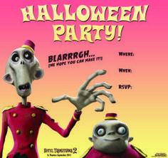 Halloween Party Zombie - Hotel Transylvania 2 Activities and Recipes   SKGaleana