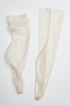 Nude - superfine tulle sock