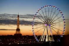 https://flic.kr/p/BPj6X4 | The Eiffel Tower and Ferris Wheel on the Place de la Concorde as Seen from Secretary Kerry's Hotel in Paris | The Eiffel Tower and ferris wheel on the Place de la Concorde as seen from the hotel used by U.S. Secretary of State John Kerry as he attends the COP21 climate change conference in Paris, France, on December 7, 2015.