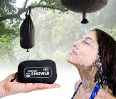 Pocket Shower - http://www.survivalacademy.co/