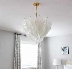 Magnificant murano glass chandelier with brass details murano am dolce vita vintage murano chandelier update novaresi murano glass leaf chandelier murano aloadofball Gallery