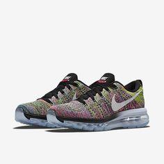 8d16baaf02f9 Nike Flyknit Air Max Womens Running Shoe 620659 004 Chlorine Blue Pink Pow  White Black