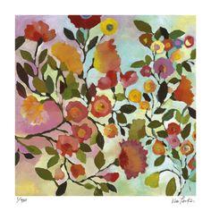 Rose Trellis Limited Edition by Kim Parker at Art.com