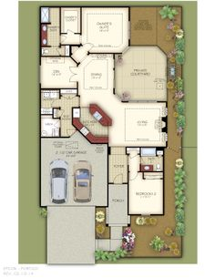 images about Portico on Pinterest   Porticos  Model Homes    The Portico Floor Plan
