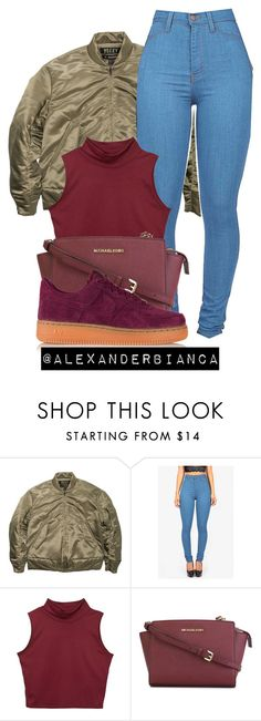 """Old Draft"" by alexanderbianca ❤ liked on Polyvore featuring adidas Originals, MICHAEL Michael Kors and NIKE"
