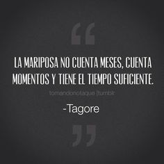 Frase de Tagore