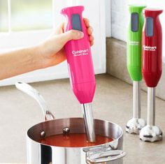Cuisinart SmartStick Immersion Blender in RASPBERRY!   $29.95