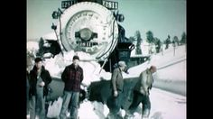 American Steam Trains Ploughing Snow : When Winter Comes -  Educational -  Historical footage of various trains in the 50's.