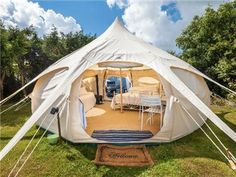 Upscale Outdoors Accommodations Cornwall | glamping UK