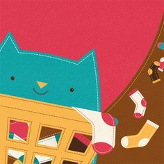 Oddsoks; Zara Picken Illustration