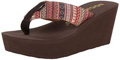 Rocket Dog Womens Diver Pueblo Cotton Flip Flop Natural 11 M US >>> See this great product.(This is an Amazon affiliate link and I receive a commission for the sales)
