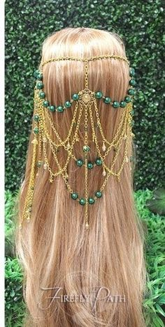 *Magical Forest* Circlet <3 Headpiece Jewelry, Head Jewelry, Bridal Jewelry, Wig Hairstyles, Wedding Hairstyles, Winter Wedding Hair, Fashion Accessories, Hair Accessories, Fairy Dress