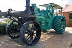 steam tractor gnowangerup by dalinean, via Flickr