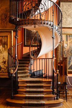 Staircase, Gustave Moreau Museum, Paris, France
