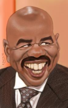 Steve Harvey -the art of caricature